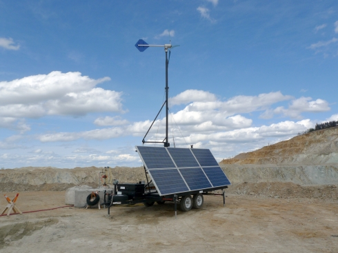 High Capacity Power Trailer,