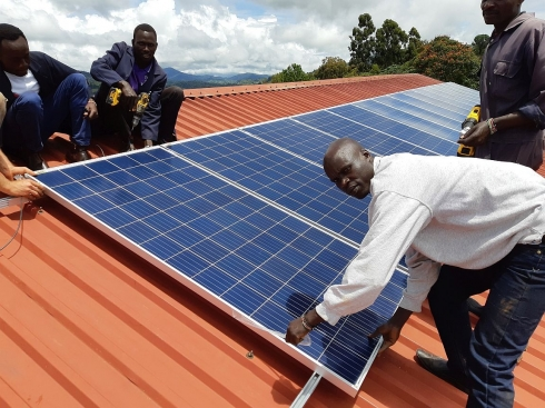 25 kWp Solar System for Kapsowar Mission Hospital - Kenya,