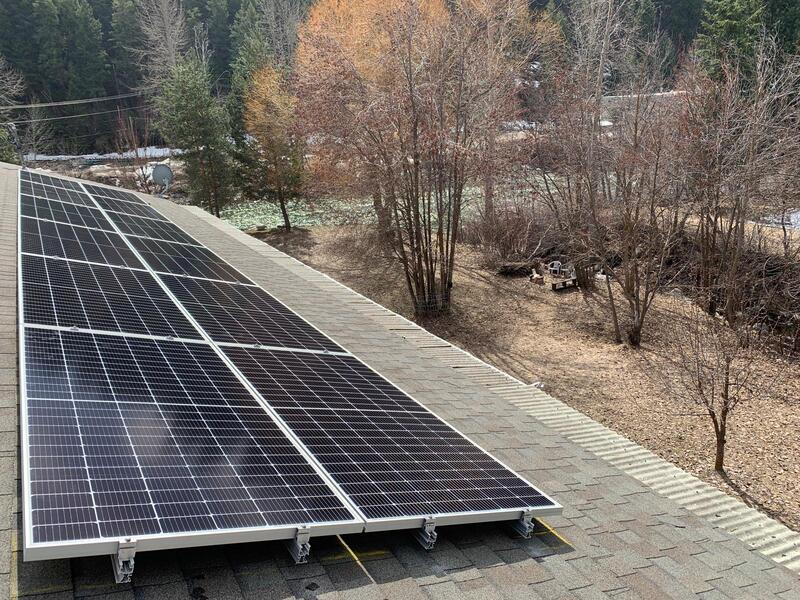 Highlight of a Residential Solar Power System Installation in Princeton,