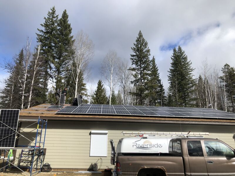 Wells Gray Education and Research Centre goes Solar! Another Hidden Gem in Clearwater Country,