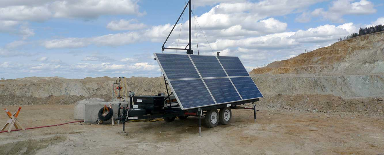 High Capacity Power Trailer