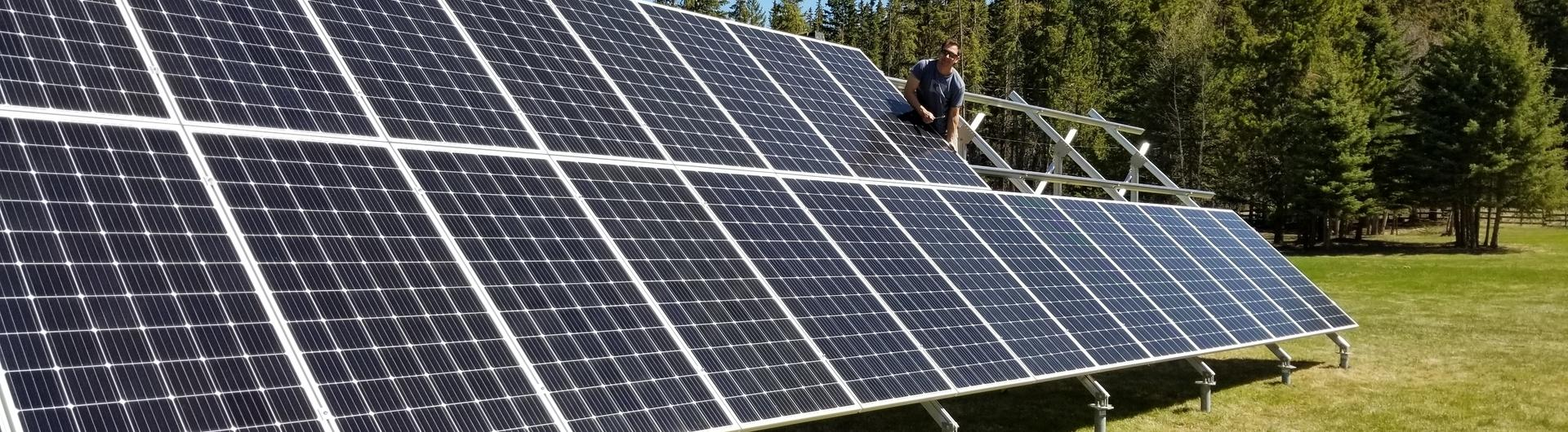 Grid Connected and Off Grid Solar Energy Systems