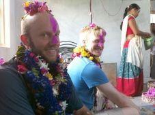 Greg Lambertus in Nepal during a philanthropic solar energy installation trip